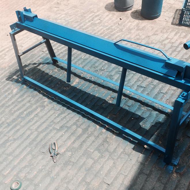 電動折板機 1至1.5mm厚折板 簡易折板機 廠家直銷