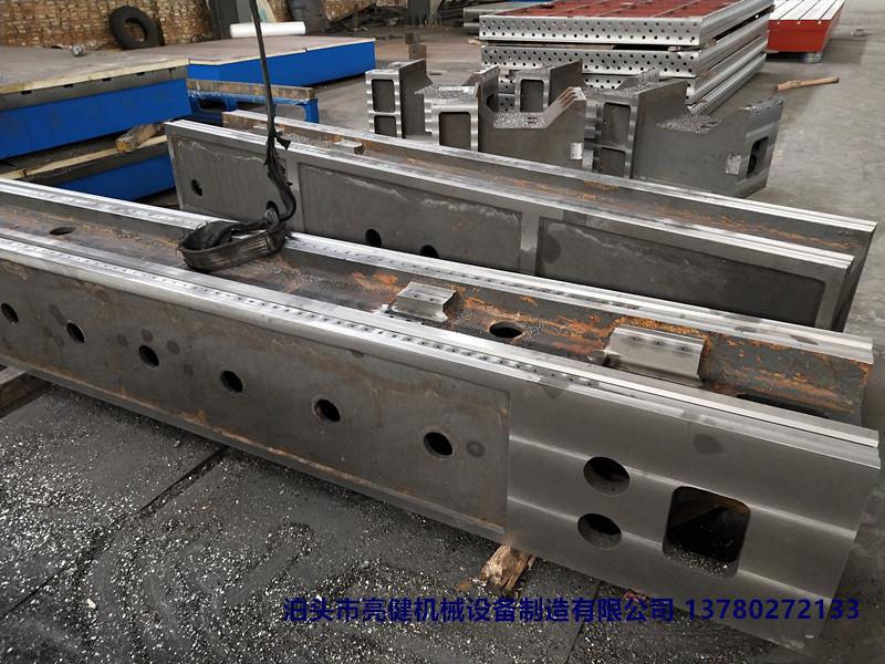 优质铸件 数控龙门铸件 机床铸件 磨床铸件 材质HT250以上泊头亮健机械厂家生产示例图6