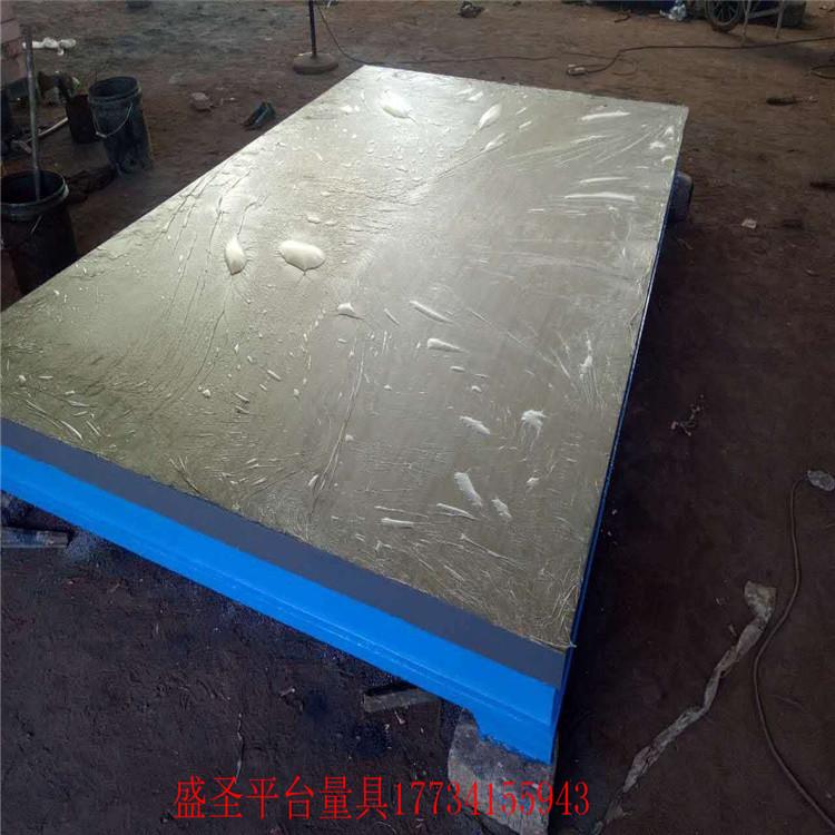 非标定制各种铸铁平台 铸铁试验平台 大型设备铸铁底座 周期短发货快