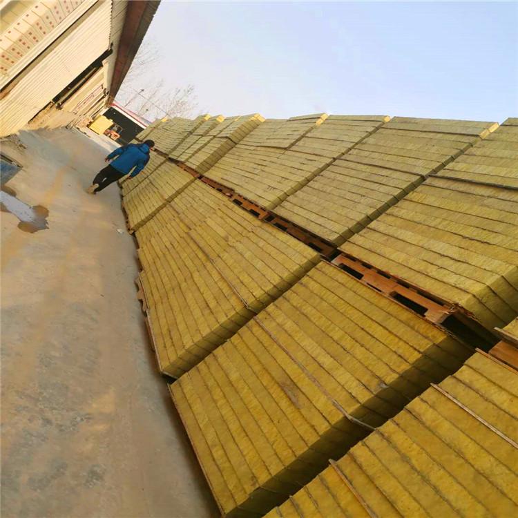 复合外墙岩棉板 不燃岩棉复合板 外墙保温 质量保证