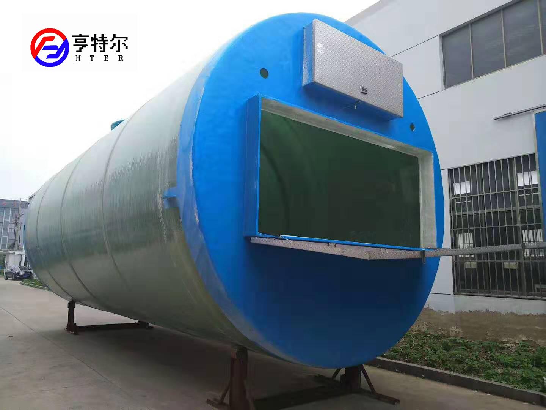 南昌污水提升泵站 污水提升泵站專業廠家 亨特爾環保