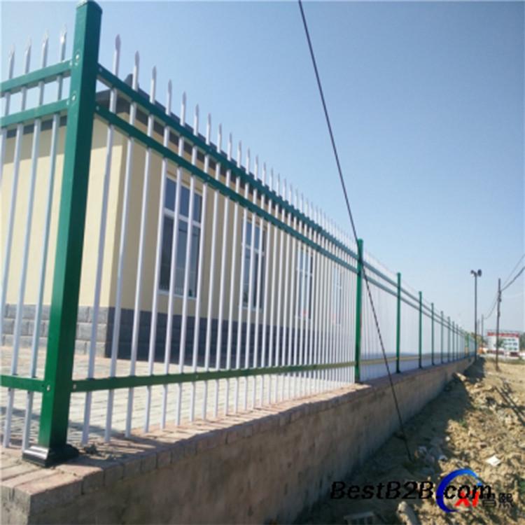 七台河  透视护栏   新村围栏 锌钢护栏安装视频