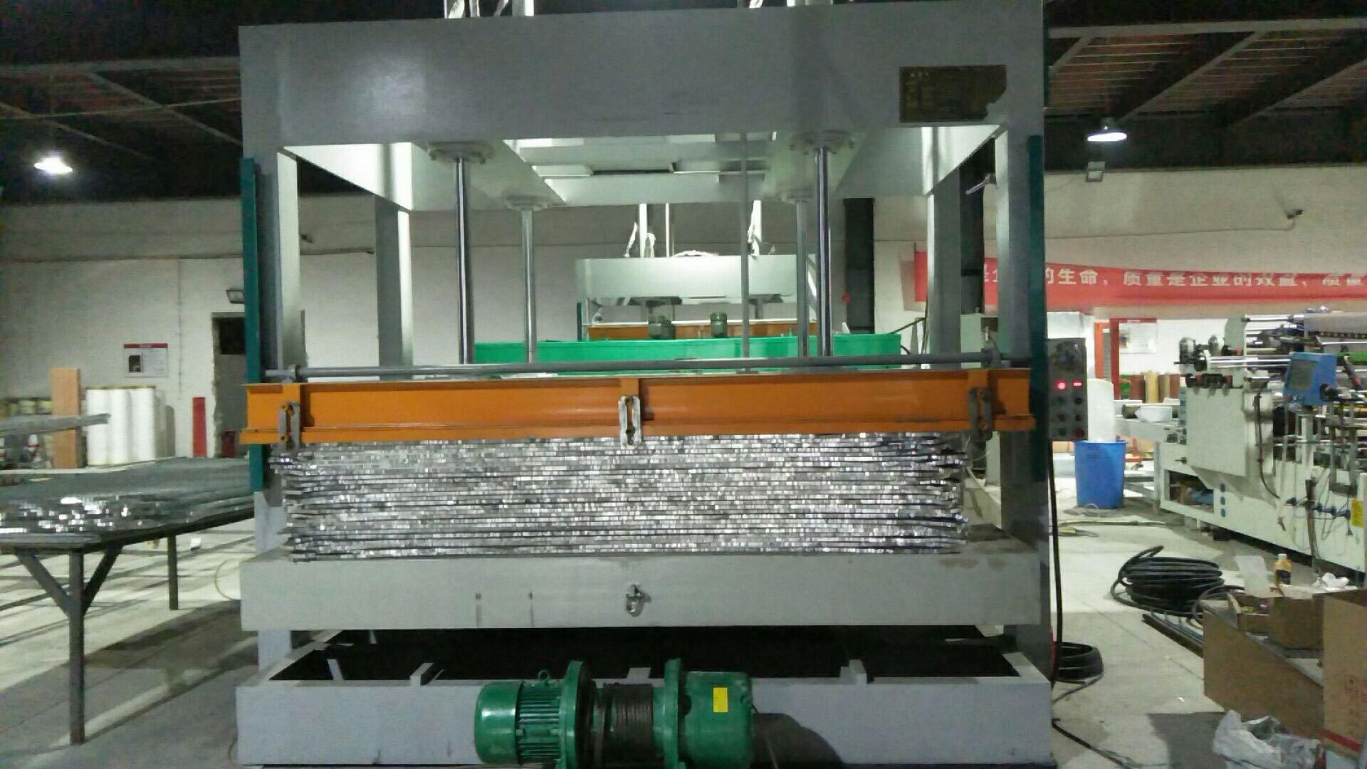 亨力特hlt3248-100t鋁蜂窩板熱壓機,熱壓機尺寸非標可以定制示例圖15