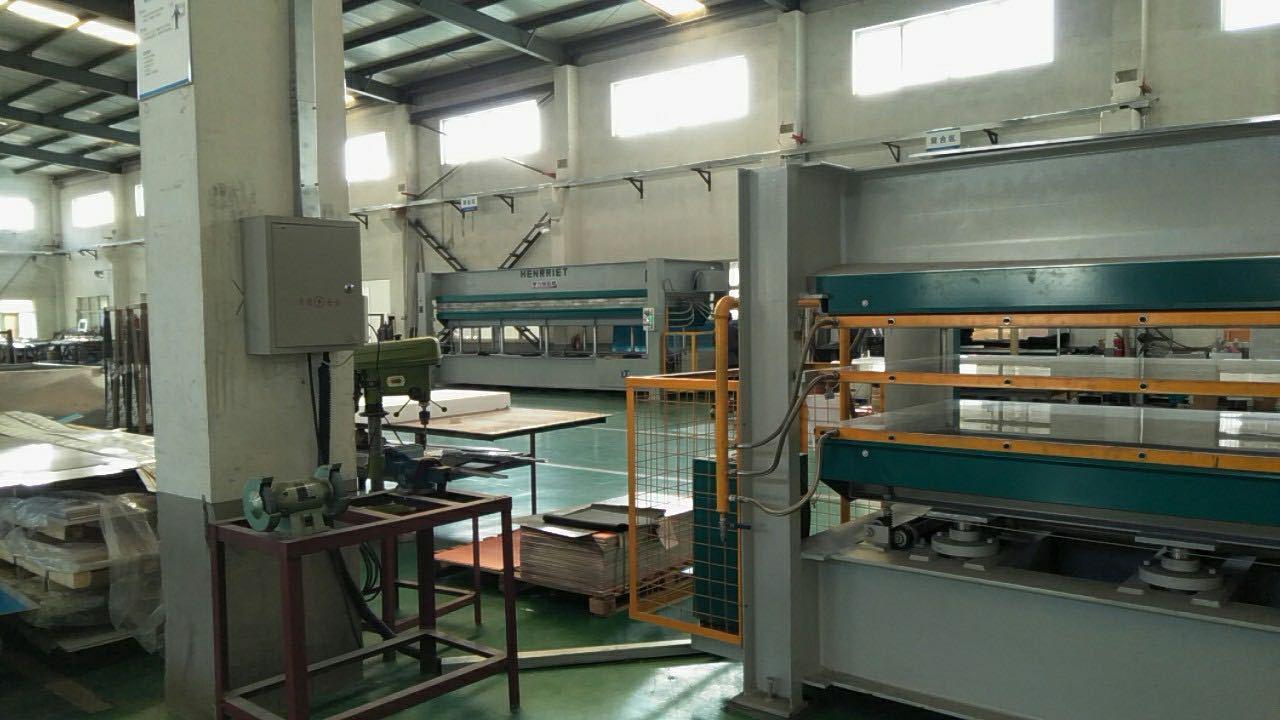 亨力特hlt3248-100t鋁蜂窩板熱壓機,熱壓機尺寸非標可以定制示例圖17