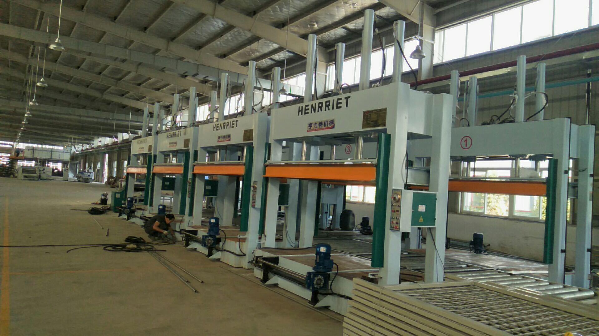 亨力特液壓全自動輸送冷壓機HLT3248-50t,木工家具板材復合冷壓機示例圖6