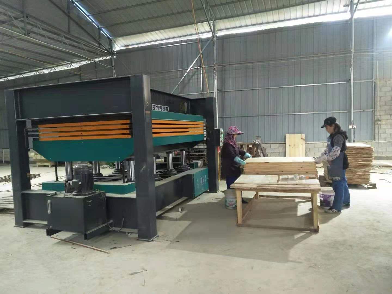 亨力特hlt3248-120t貼木皮熱壓機,木工家具貼面熱壓機尺寸,非標可以定制示例圖15